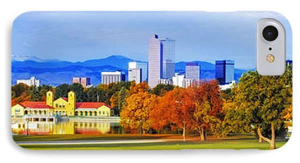 Fall In Denver Colorado IPhone Case