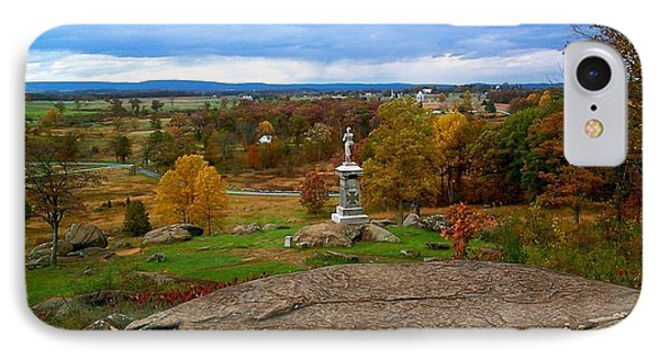 Fall In Gettysburg IPhone Case by Amazing Photographs AKA Christian Wilson