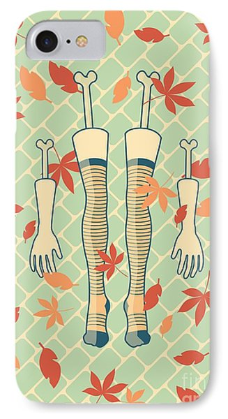 Fall In Love IPhone Case by Freshinkstain