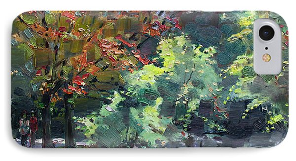 Fall In Mississauga Park IPhone Case by Ylli Haruni