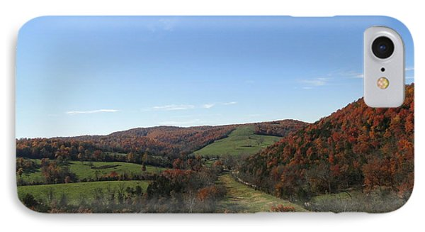 Fall In Missouri IPhone Case by Cindy Croal