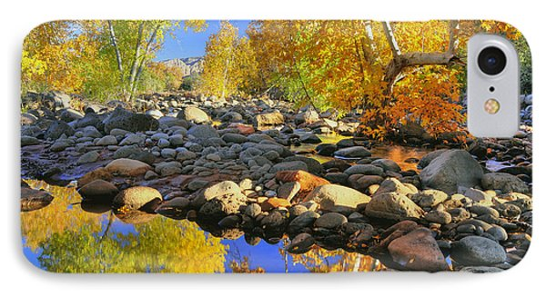 IPhone Case featuring the photograph Fall In Oak Creek  by Dan Myers
