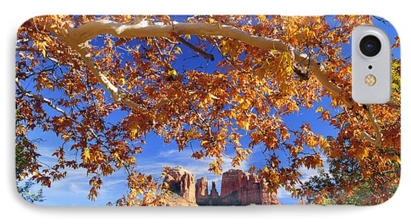 IPhone Case featuring the photograph Fall In Sedona by Dan Myers