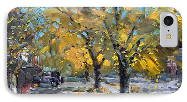 Fall In Silverado Dr  IPhone Case by Ylli Haruni
