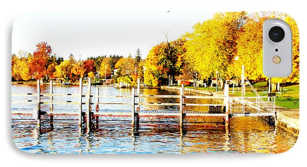 Fall In Skaneateles Ny IPhone Case by Margie Amberge
