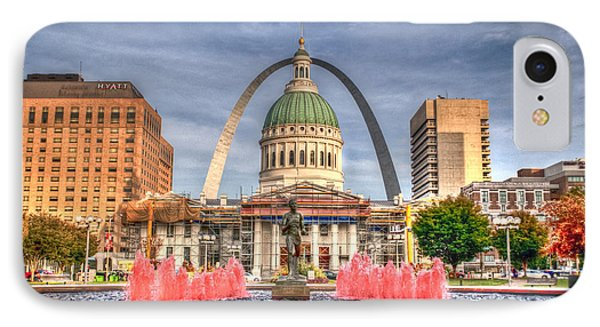 IPhone Case featuring the photograph Fall In St. Louis by Deborah Klubertanz