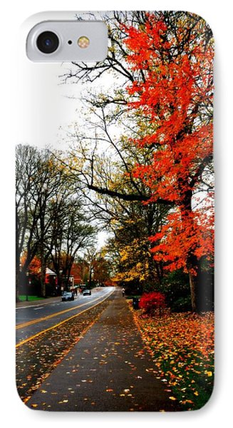 Fall In The Northwest Phone Case by Heather L Wright