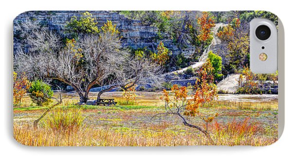 Fall In The Texas Hill Country IPhone Case by Savannah Gibbs