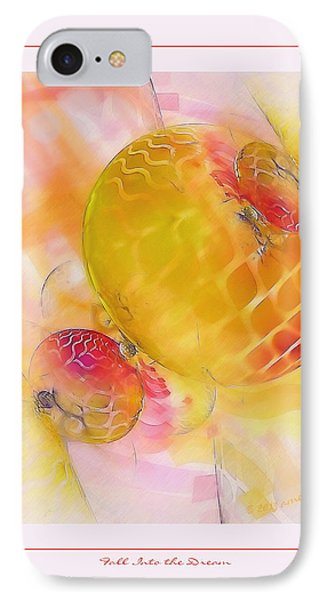 Fall Into The Dream Phone Case by Gayle Odsather