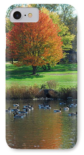 Fall IPhone Case by Kathy Gibbons