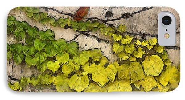 IPhone Case featuring the photograph Fall Leaves I by Brian Davis