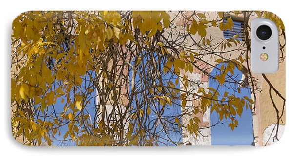 Fall Leaves On Open Windows Jerome Phone Case by Scott Campbell
