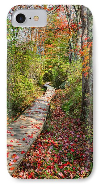Fall Morning Phone Case by Bill Wakeley