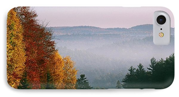 IPhone Case featuring the photograph Fall Morning by David Porteus