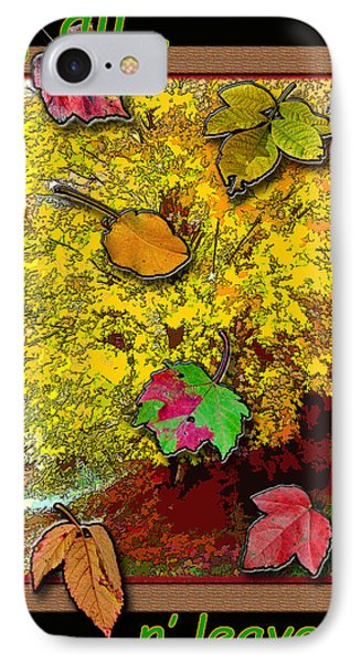 Fall N' Leaves Phone Case by Larry Bishop