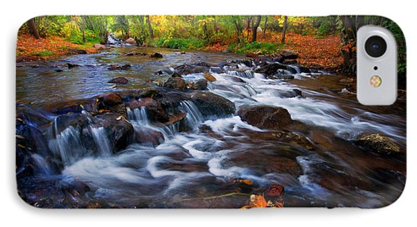 IPhone Case featuring the photograph Fall On Fountain Creek by Ronda Kimbrow