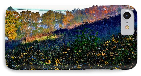Fall On Garvin Heights IPhone Case