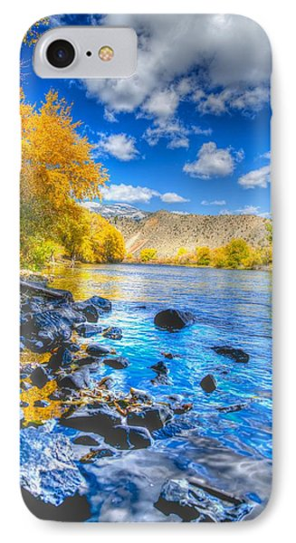 Fall On The Big Hole River  IPhone Case by Kevin Bone