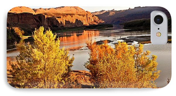 Fall On The Colorado Phone Case by Marty Koch
