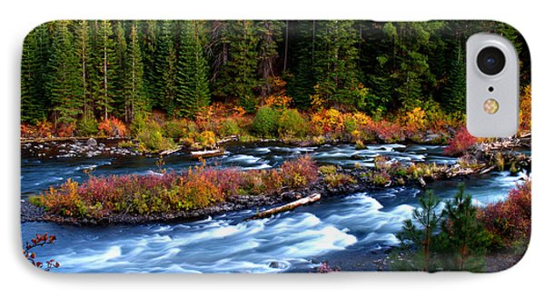 IPhone Case featuring the photograph Fall On The Deschutes River by Kevin Desrosiers