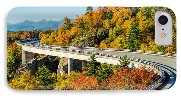 Fall On The Parkway IPhone Case