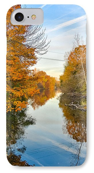 Fall On The Red Cedar  IPhone Case by Lars Lentz