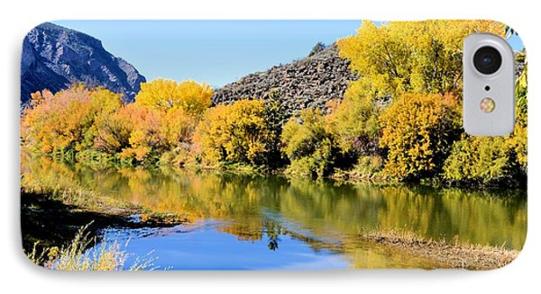 Fall On The Rio Grande IPhone Case