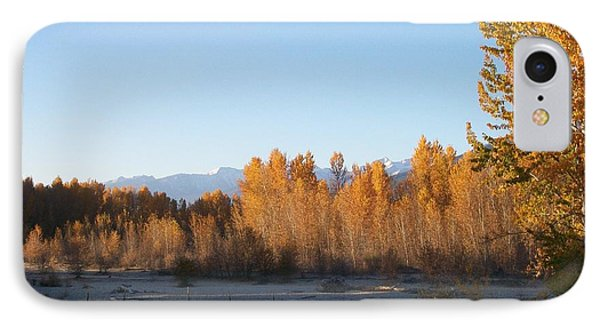 Fall On The River IPhone Case