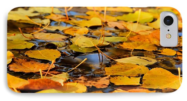 Fall On The Water  IPhone Case by Kevin Bone