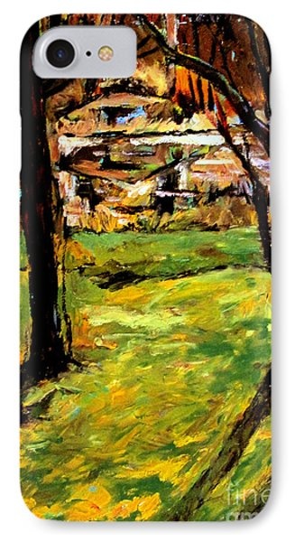 Fall Pond IPhone Case by Charlie Spear