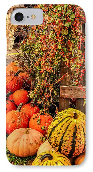 Fall Produce Phone Case by Gene Sherrill