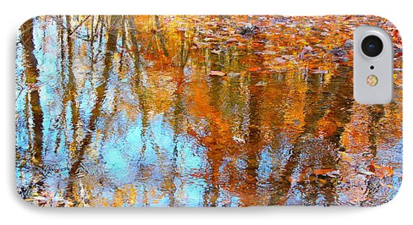IPhone Case featuring the photograph Fall Reflection by Candice Trimble