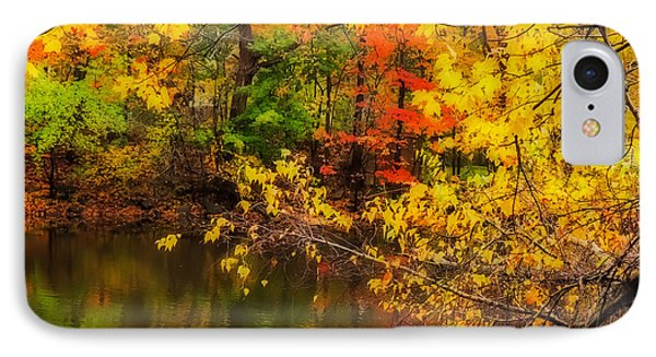 Fall Reflection Phone Case by Robert Mitchell