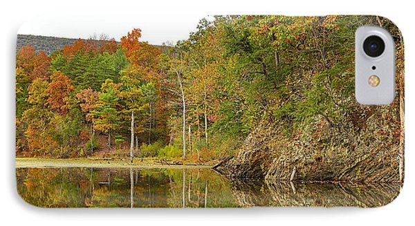 Fall Reflections At Pardee Pond #1 IPhone Case