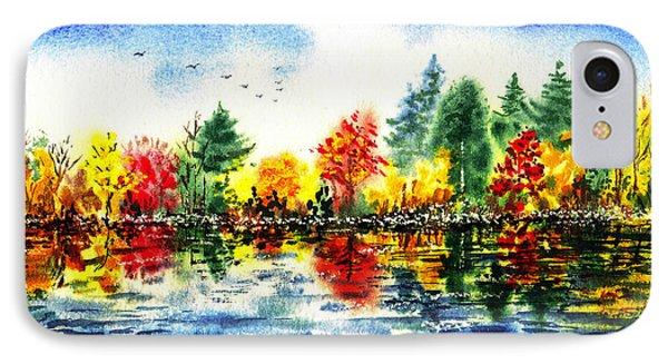 Fall Reflections IPhone Case by Irina Sztukowski