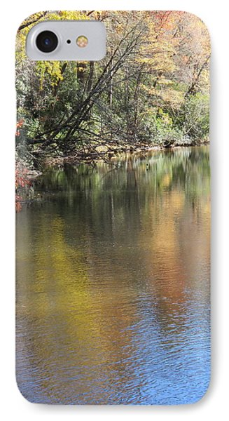 Fall Reflections IPhone Case by Kathy Long