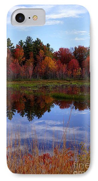 Fall Reflections IPhone Case by Kerri Mortenson