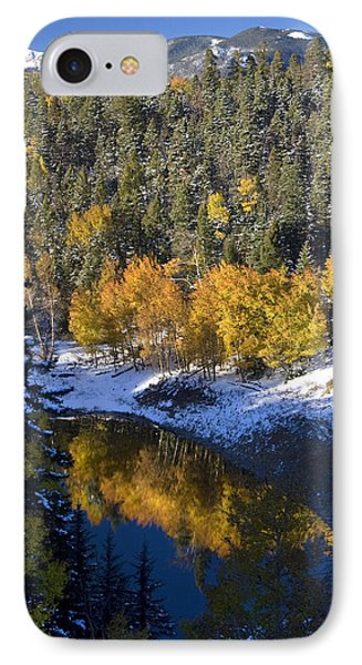 Fall Reflections On Bobcat Pass IPhone Case