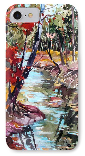 Fall Reflections Phone Case by Rae Andrews