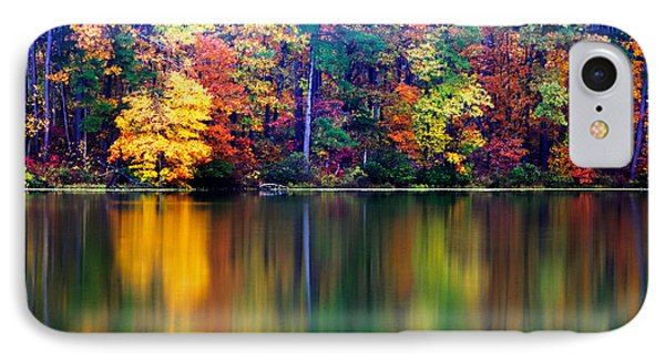 Fall Reflections Phone Case by Tony  Colvin