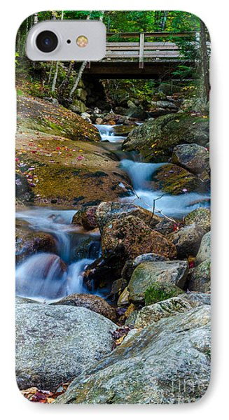 IPhone Case featuring the photograph Fall Scene In Nh by Mike Ste Marie