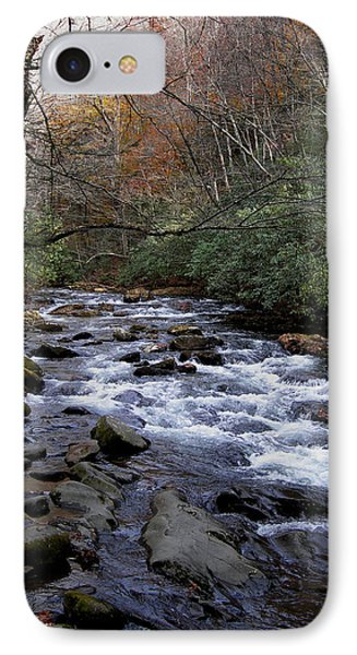 Fall Seclusion IPhone Case by Skip Willits