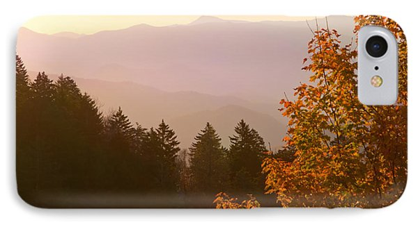 Fall Smoky Mountains IPhone Case by Melinda Fawver
