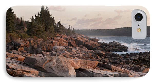 IPhone Case featuring the photograph Fall Sunrise In Acadia by Phyllis Peterson