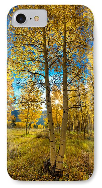 Fall Sunrise Phone Case by Rick Machle