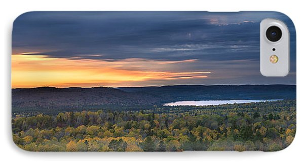 Fall Sunset In Wilderness IPhone Case