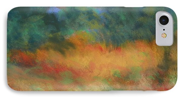 Fall Tonal Landscape IPhone Case by Shirley Moravec