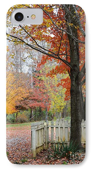 Fall Tranquility IPhone Case by Debbie Green
