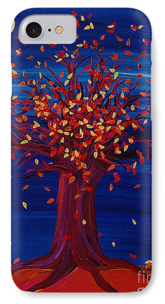 Fall Tree Fantasy By Jrr IPhone Case by First Star Art