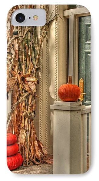 Fall Welcome Phone Case by Heather Allen